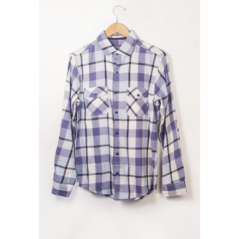 Counter Intelligence Blue Flannel