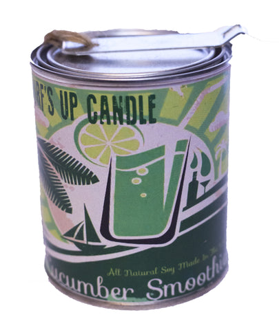 Cucumber Smoothie Paint Can Candle