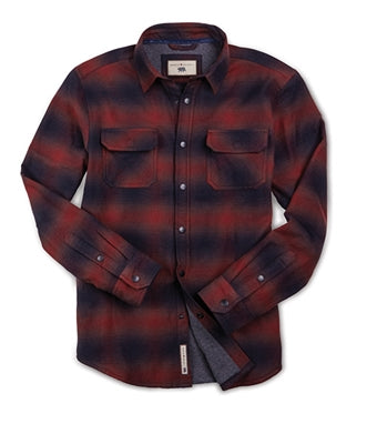 Shayne - Ombre Flannel Shirt Jac