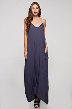Denim Blue Mila Maxi