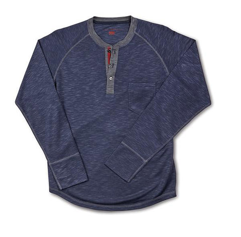 Fitch - Cotton Heathered Henley L/S T-Shirt