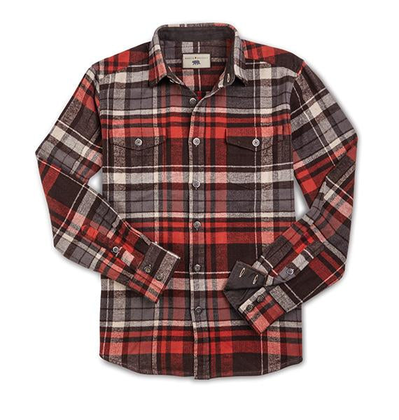 Turner - Flannel Shirt With  Front Pockets