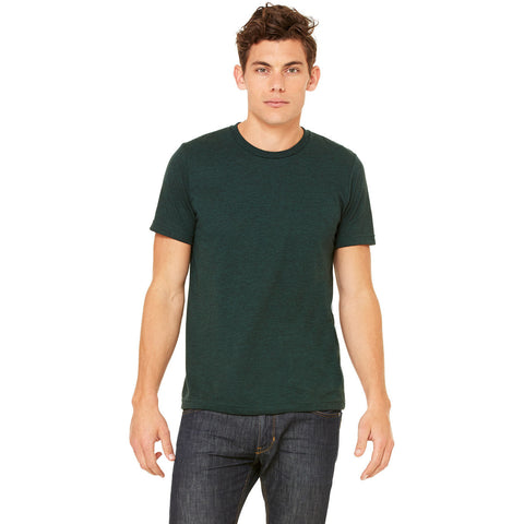 Emerald Triblend Crewneck Tee - Anonymous L.A.