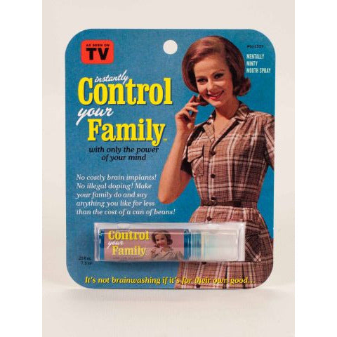 Control Your Family Breath Spray - Anonymous L.A.