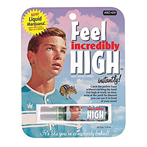 Feel Incredibly High Breathspray