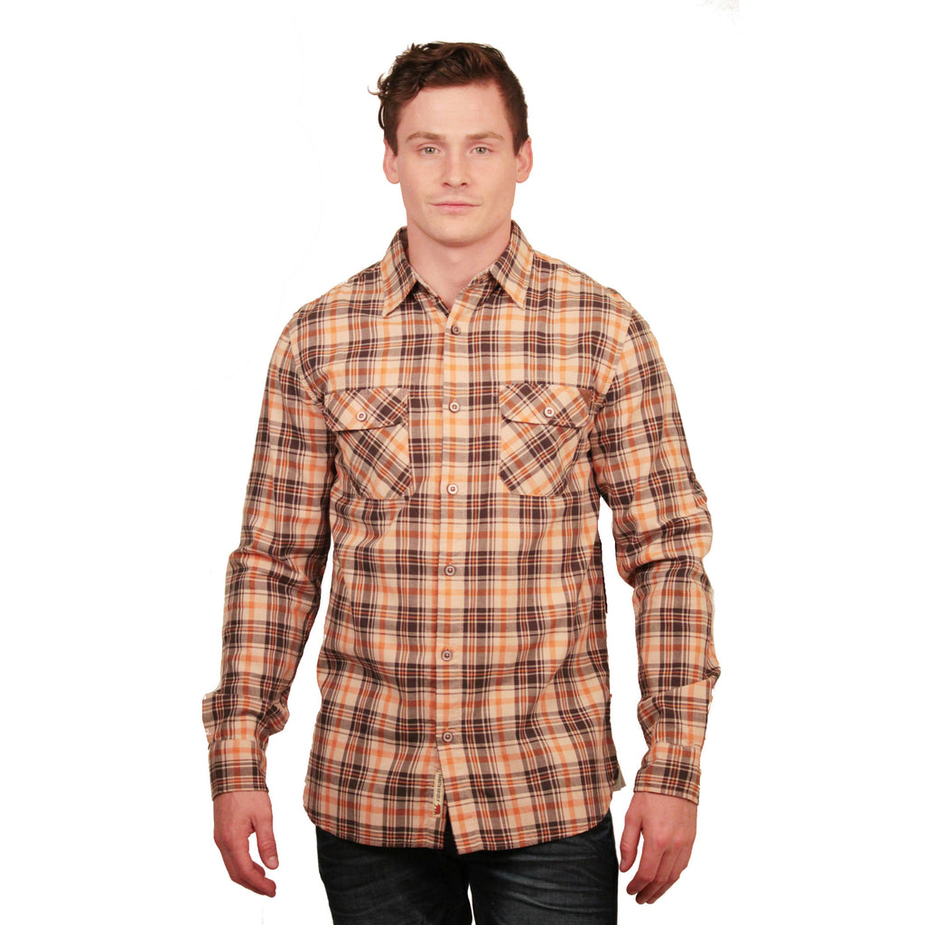 Dakota Grizzly Brewer Plaid Button-Up - Anonymous L.A. - 1