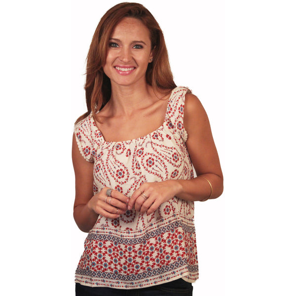 Daisy Paisley Top - Anonymous L.A. - 1