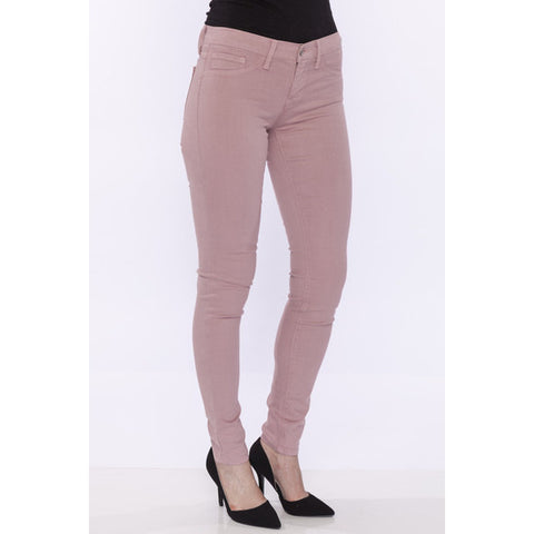 Flying Monkey Low-Mid Rise Skinny Jeans Rose Pink - Anonymous L.A. - 1