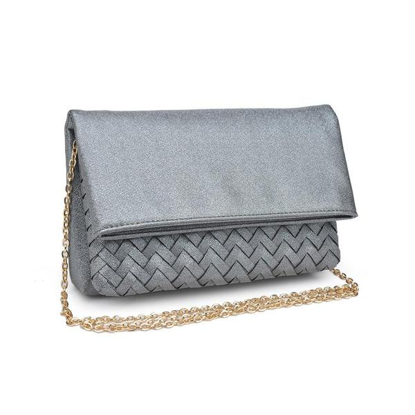 Fold Over Cross Body Clutch Bag