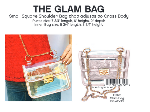 Stadium Bag - Glam bag