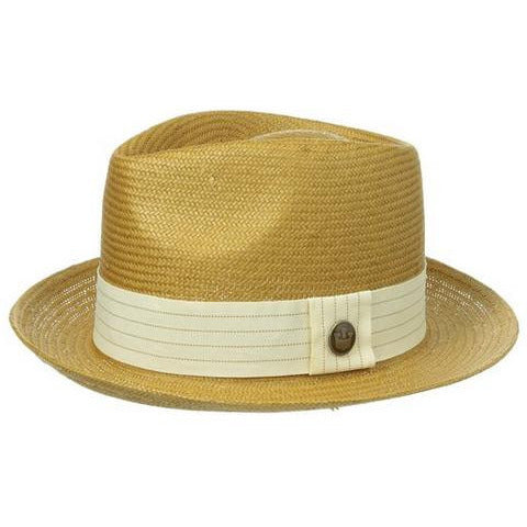 Snare Straw Fedora - Anonymous L.A. - 2