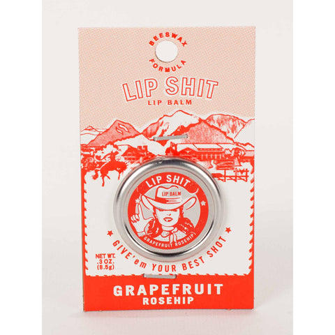 Grapefruit Reship Lip Shit Lip Balm