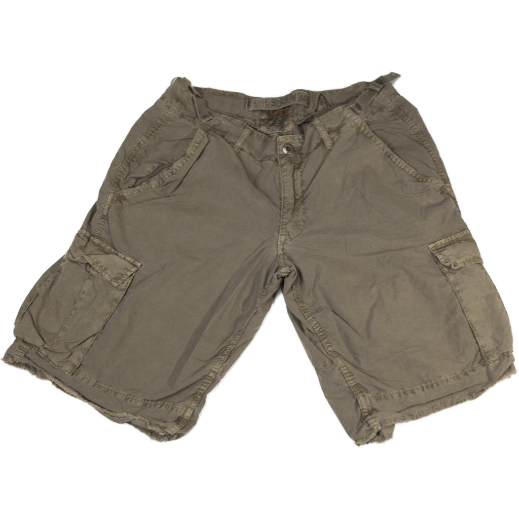 Green Cargo Shorts - Anonymous L.A.