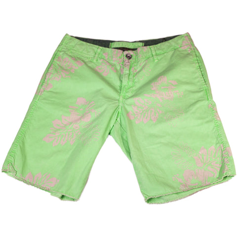 Green Luau Shorts - Anonymous L.A.