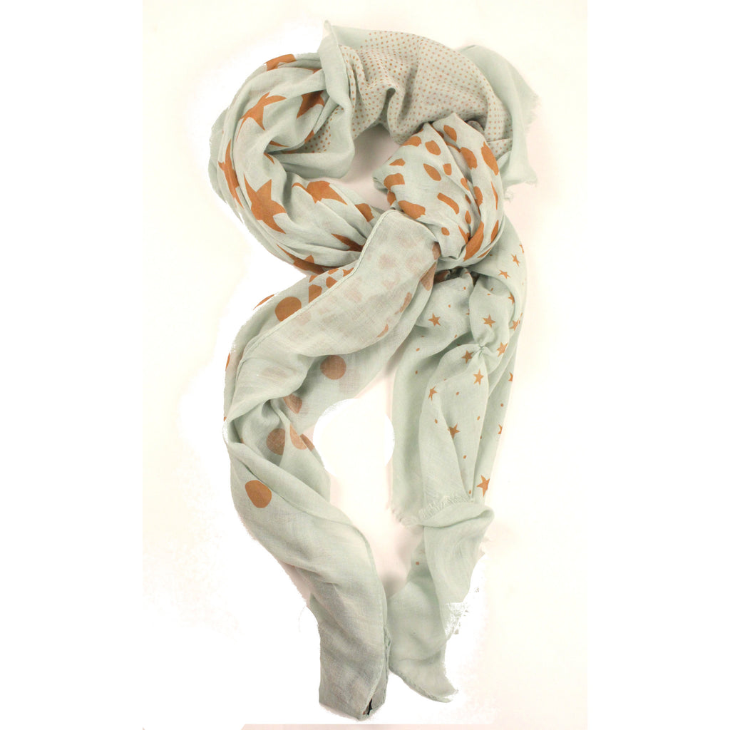 Multi Mint Scarf by Look - Anonymous L.A.