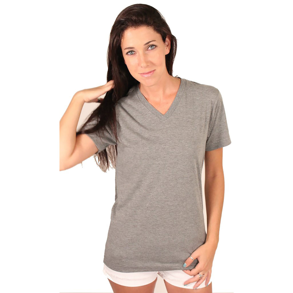 Bella + Canvas Solid V-Neck - Anonymous L.A.