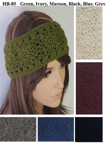 SOLID CROCHET HEADBAND