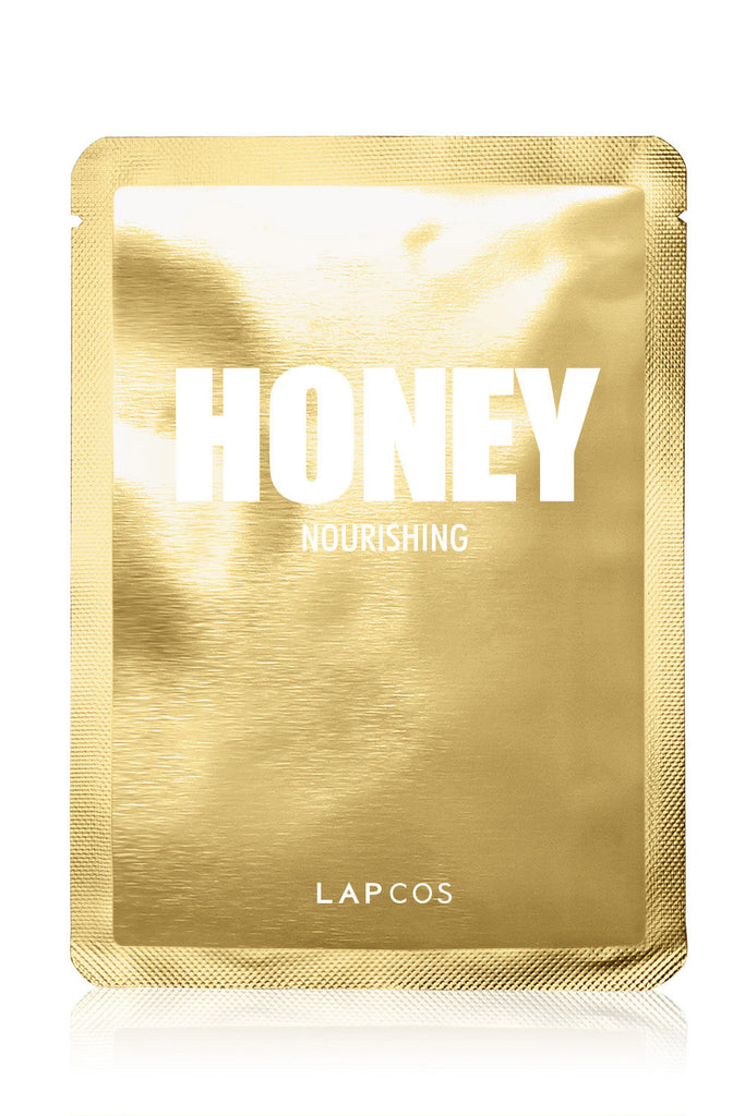 Lapcos Metallic Sheet Mask Individual - Honey