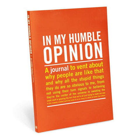 In My Humble Opinion Inner Truth Journal