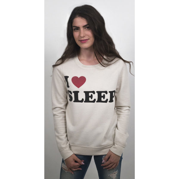 Chaser I Love Sleep Fleece Pullover - Anonymous L.A. - 1