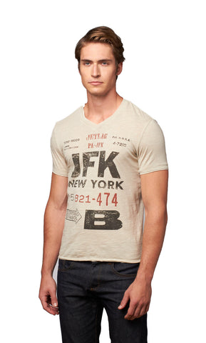 JFK Printed T-Shirt