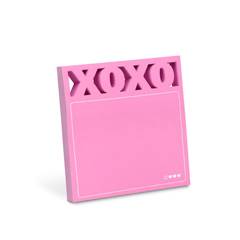 XOXO Diecut Sticky Note