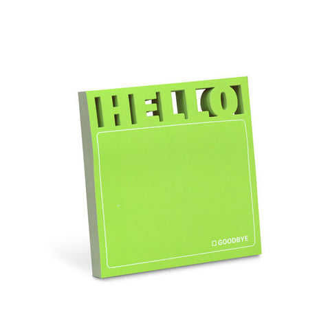 Hello Diecut Sticky Note