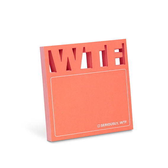 WTF Diecut Sticky Note