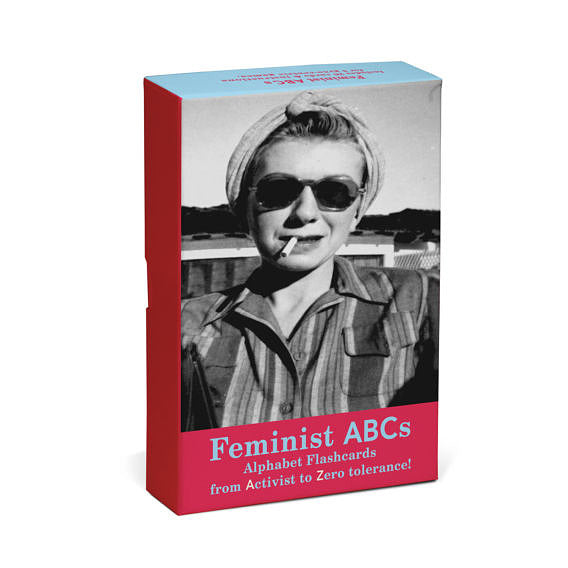 Feminist ABCs Alphabet Flashcards: From Activist to Zero Tolerance!