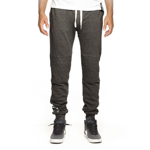 Lucky 7 Charcoal Drop Crotch Sweatpants - Anonymous L.A.