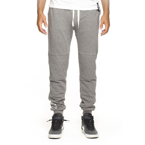 Lucky 7 Light Grey Drop Crotch Sweatpants - Anonymous L.A.