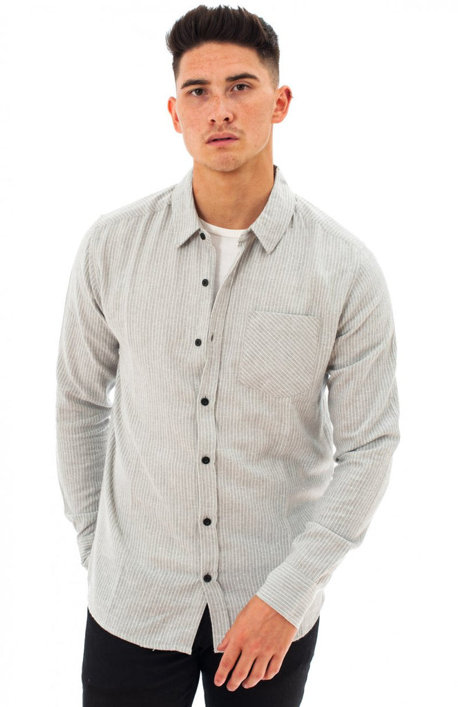 MS COOCHIE - Men's Flannel Long Sleeve Shirt