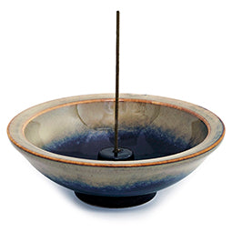 Mountain Mist - 4.5-inch Round Incense Holder