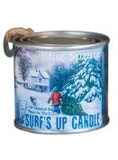 Blue Spruce Paint Can Candle -  1/4 Pint