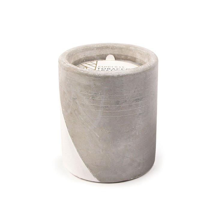 Tobacco & Patchouli 12 oz Concrete Candle