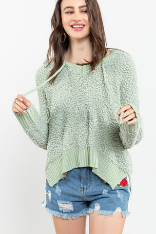 Chenille Pull-Over Sweater