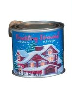 Crackling Firewood Paint Can Candle - 1/4 Pint