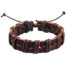 Mad Man Leather Bracelet Assorted Styles