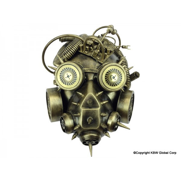 Gold Steampunk Mask