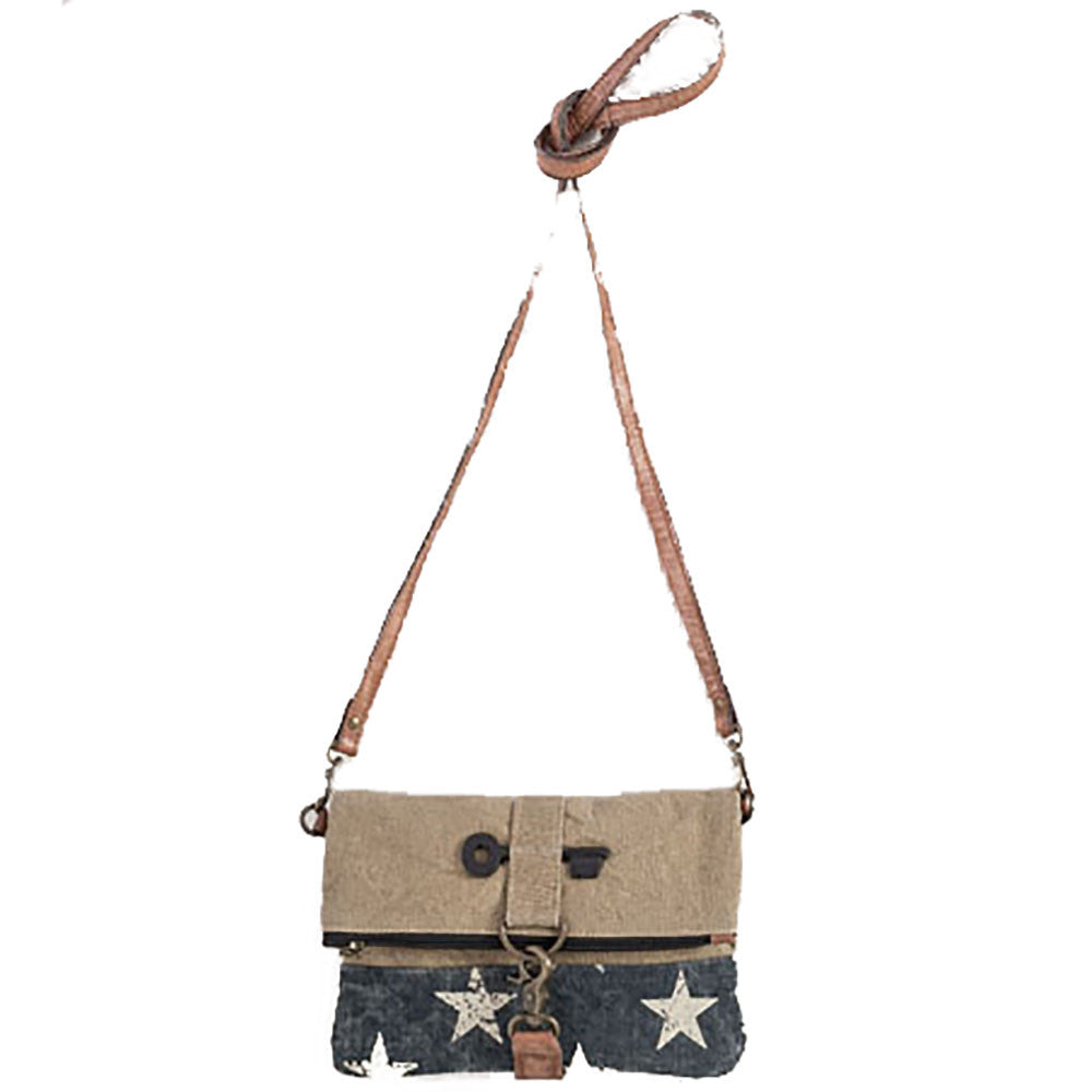 Mona B Stardust Fold-Over Crossbody Bag - Anonymous L.A.