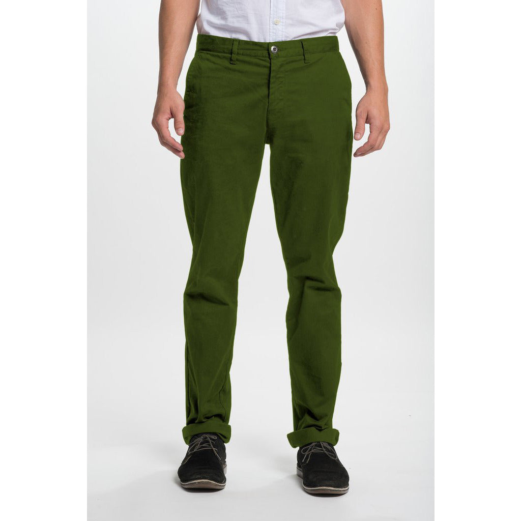 Light Green Chino Pants with Pockets - Anonymous L.A.