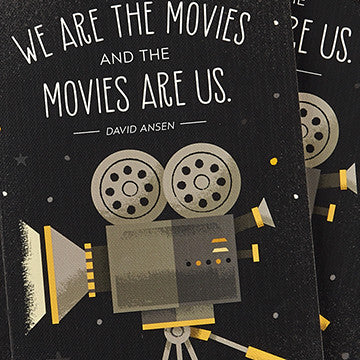 """We Are The Movies And The Movies Are Us."" Notebook - Anonymous L.A. - 4"
