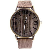 Walnut Timber Watch - Anonymous L.A.