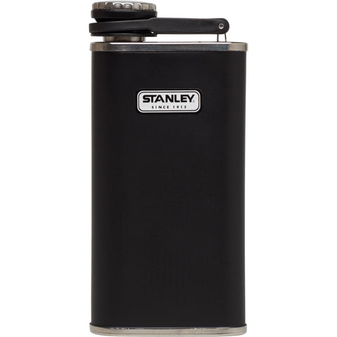 Classic Flask | 8 oz Black Steel