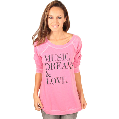 Music, Dreams & Love Sweater - Anonymous L.A.