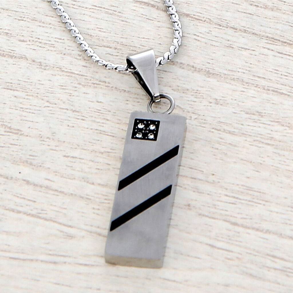 M/S Stainless Steel Necklace - Durban - Anonymous L.A.