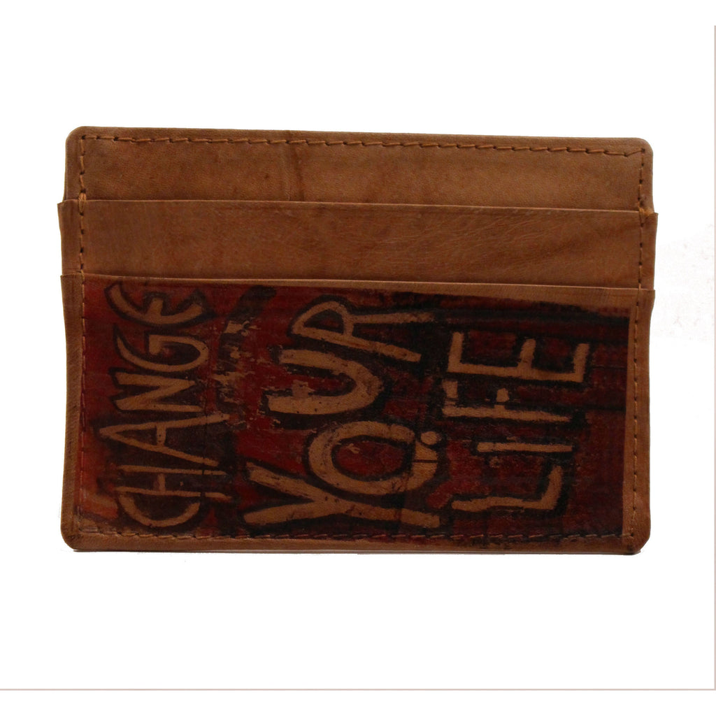 Studio Manhattan Change Your Life Card Holder - Anonymous L.A. - 1