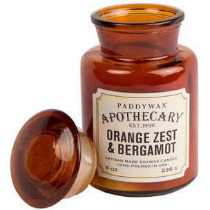 Orange Zest & Bergamot Apothecary Candle - Anonymous L.A.