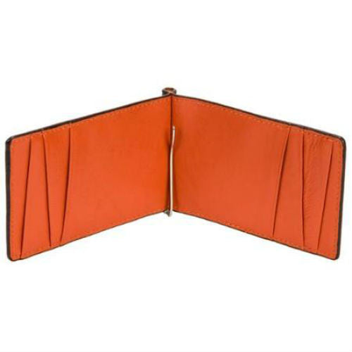 Orchill Captain Orange Leather Wallet - Anonymous L.A. - 1