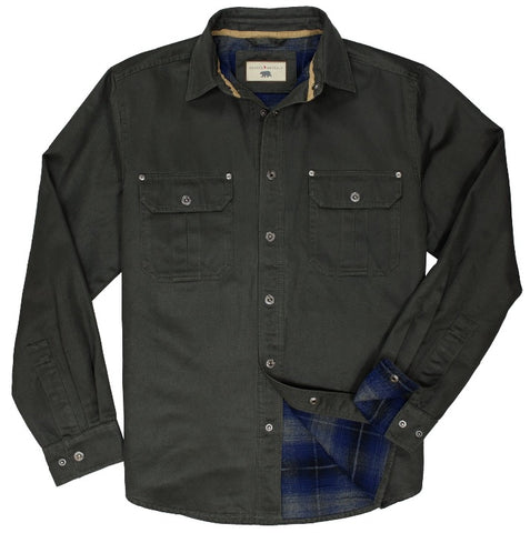 Dalton - Shirt Jacket - Tobacco